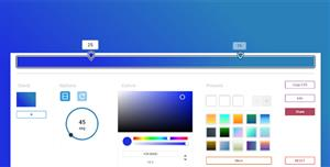 js颜色选择自定义减淡效果