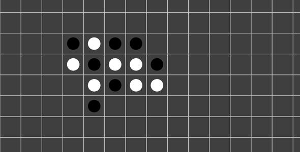 js五子棋代码demo