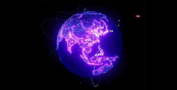 echarts 3D地球代码世界地图源码下载