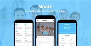 手机端医疗卫生html5模板