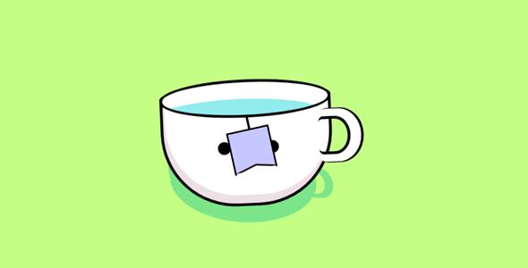 纯css动画茶杯