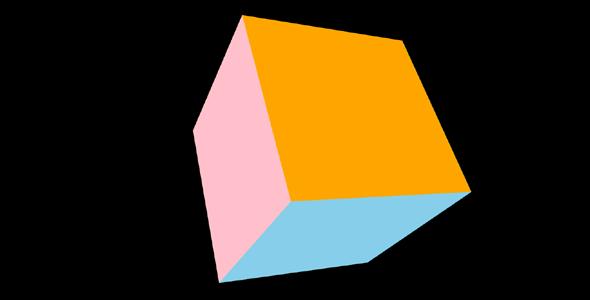 3d立方体拖拽转向