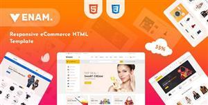 多用途的电子商务购物网站模板