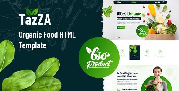 绿色农产品电商网站HTML模板源码下载