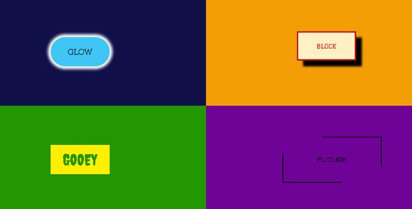 几种古怪的css3按钮样式