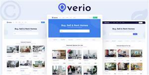 高质量的房产交易房屋租赁网站模板