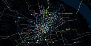 echarts百度地图道路流动效果