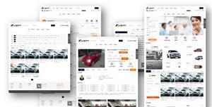 二手车交易平台网站HTML模板