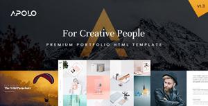 创意设计个人作品展示CSS模板