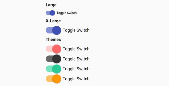 css美化Toggle开关选择按钮源码下载