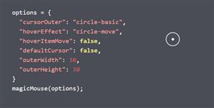 鼠標箭頭光標樣式插件MagicMouse.js