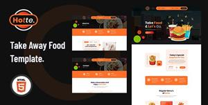 响应式外卖美食网页HTML5模板