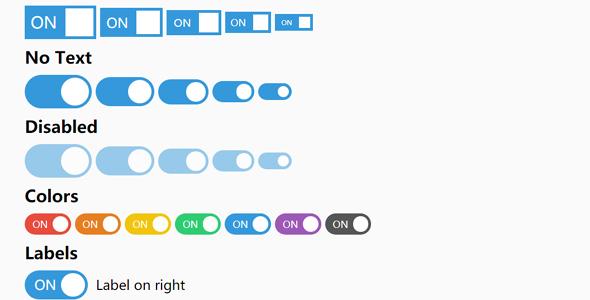 toggle切换开关选择按钮css代码源码下载