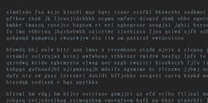 scramble.js文本闪烁动画