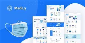 医疗行业电商网站HTML模板