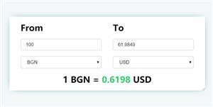 货币转换JavaScript插件