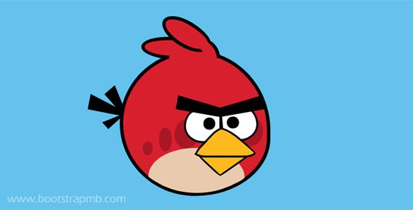 CSS+HTML愤怒的小鸟代码