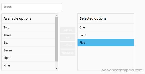 文本列表项左右穿梭Js插件