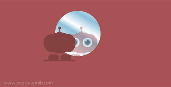 svg反射照镜子动画网页代码
