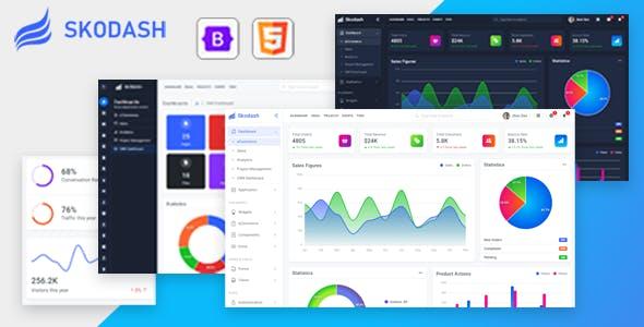 jQuery后台界面Web应用网页模板