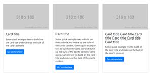 Bootstrap卡片图文列表布局样式代码