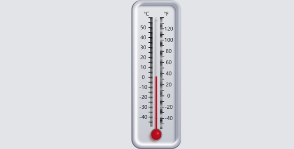 js+css温度计网页代码源码下载