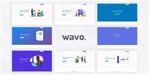 11个SaaS,创业公司&WebApp网页模板