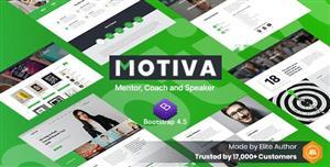 响应式的教练网站HTML5模板