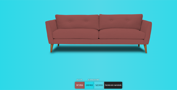 js沙发颜色模型替换自定义源码下载