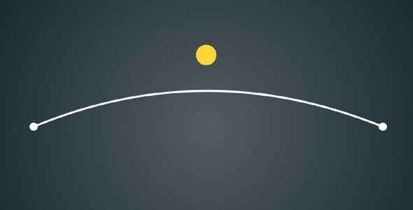 svg+js拖动弹性动画特效