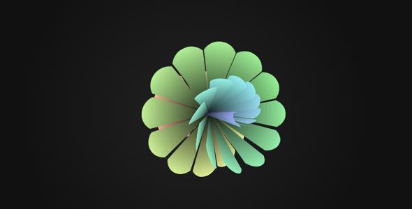 纯CSS3花朵动画特效源码下载