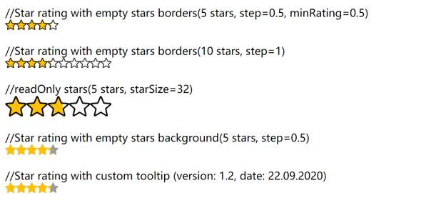 js星星打分代码源码下载