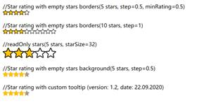 js星星打分代碼