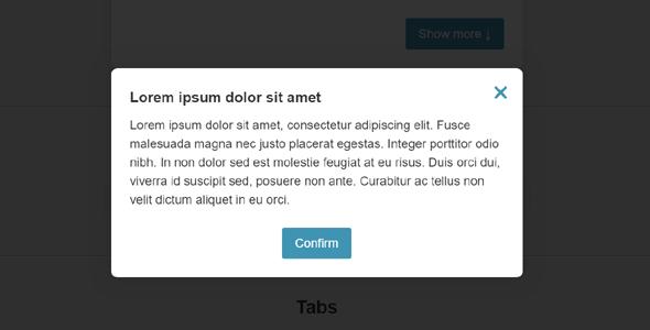 js特效弹出切换更多等网页小部件源码下载