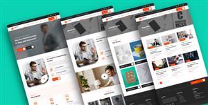 通用的公司网站HTML5模板