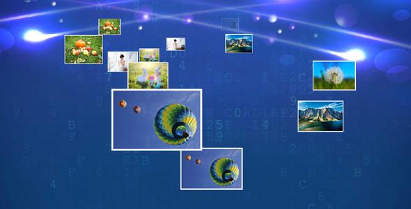 jQuery图片墙飞来动画3d特效源码下载