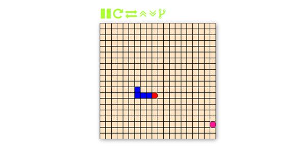 简约的jquery贪吃蛇网页小游戏