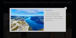 純CSS畫廊圖片放大特效