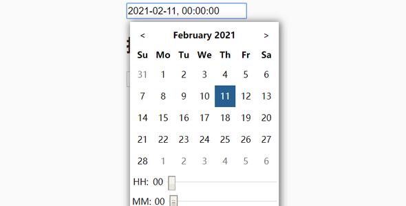 dtsel.js时间日历插件