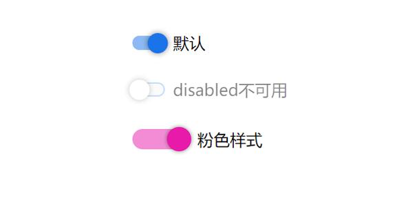 纯CSS toggle开关按钮