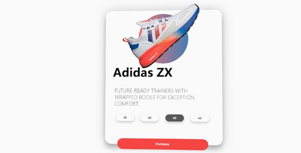 商品3D展示效果卡片样式源码下载