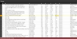 JavaScript电子表格/CSV在线预览插件