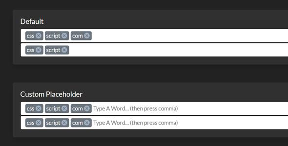 bootstrap input多标签插件