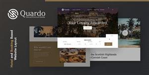 HTML5高档酒店旅行预订网站模板