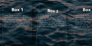 css3+js玻璃樣式卡片網格樣式