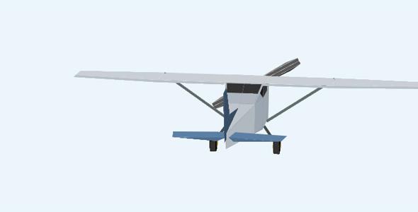 纯css3飞机3d动画特效代码源码下载