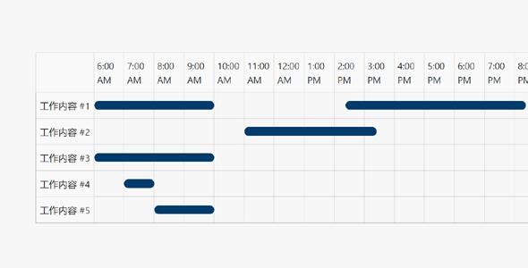 gantt.js任务时间进度表插件源码下载