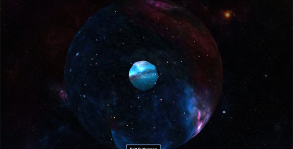Three.js地球空间动画特效