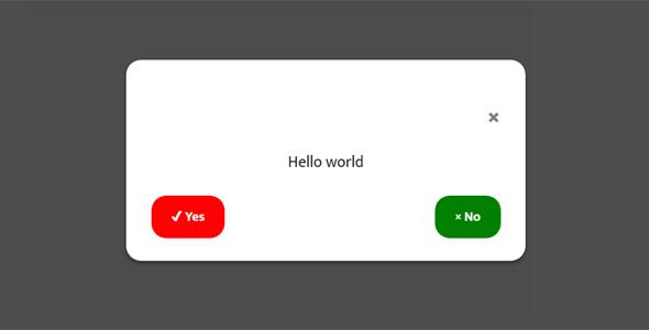 弹出对话确认框插件confirmo.js源码下载