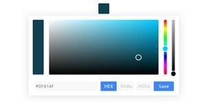pickr.js颜色选取网页组件